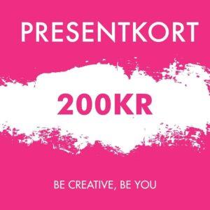 Presentkort 200