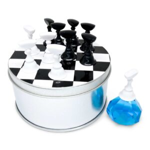 Tipphållare Schack – Blå